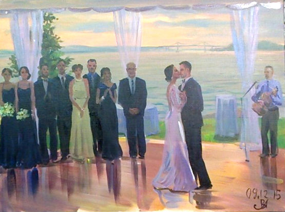 wedding painting sep 12 2015