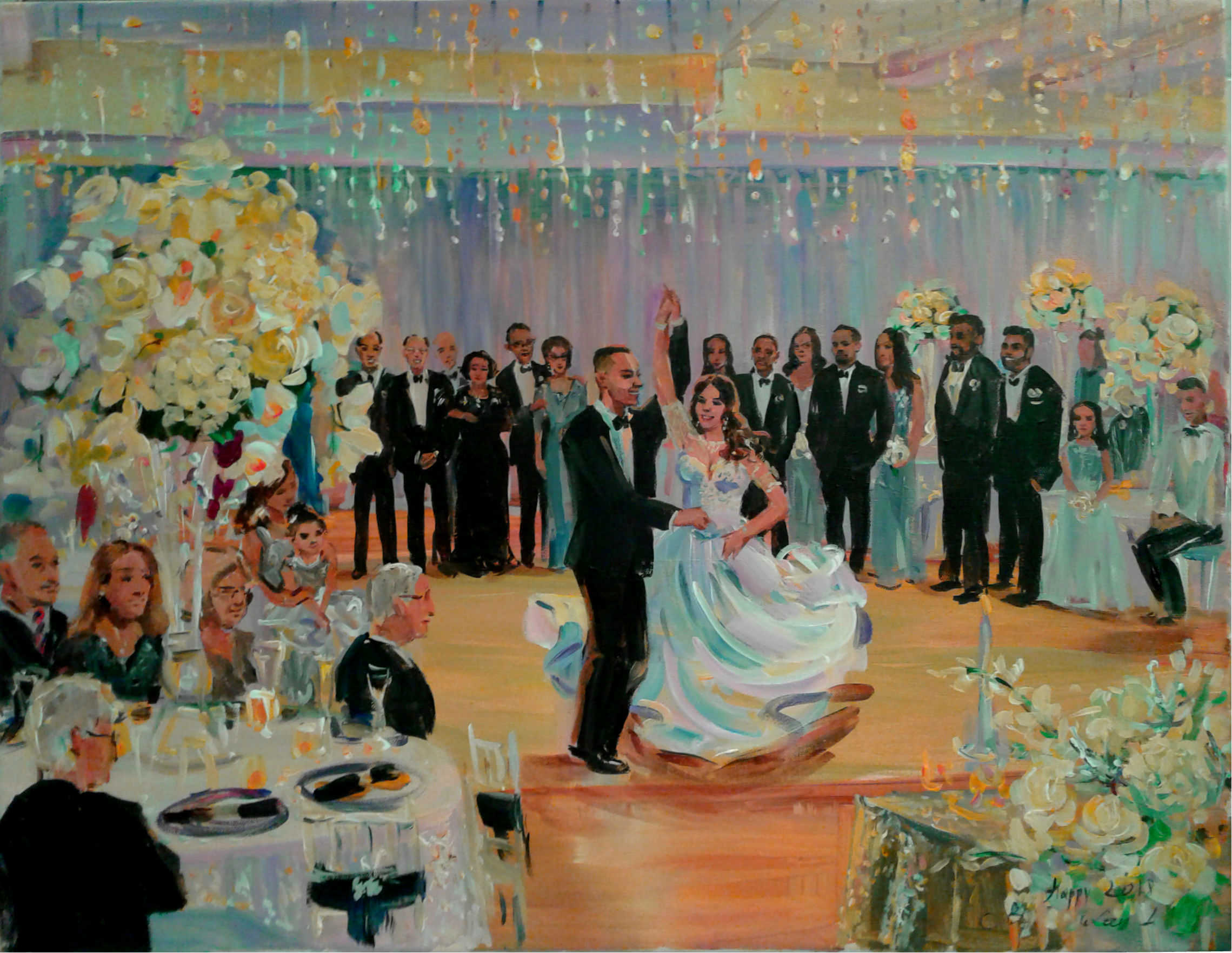 new year wedding painting xsmall