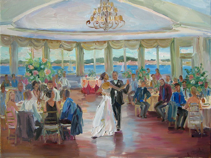 Wedding painting 1