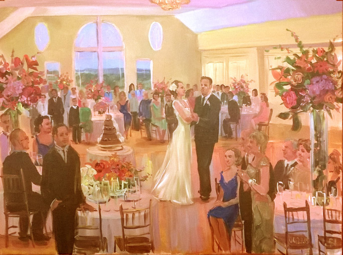 wedding painting june 2015